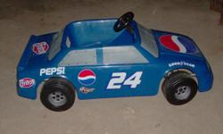 Battery operated Jeff Gordon ride on car. Great gift for that little NASCAR fan. Like new, good battery with charger. Forward and reverse foot buttons, 6-volt battery. $125.00--call -- Canton