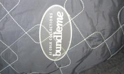 -- warm lined soft gray exc condition rarely used it 10.00