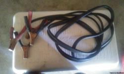 Heavy duty Jumper cables used but in good condition.make me an offer