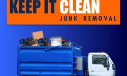 Keep It Clean Junk Removal we have a very simple goal when it comes to our customers. Were here to make our customers lives great by freeing them of unwanted junk and clutter. Everyone that works for Keep It Clean Junk Removal from our junk hauling