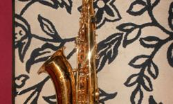 Jupiter Tenor Saxophone $800 OBO I'm selling it because it's just been sitting in my closet for years and I haven't played it since I quit band in 8th grade. (I graduated in '09) Some scratches on the side (I bought it used, scratches were there