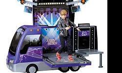 I have a Justin Beiber tour bus that I bought last Christmas. My daughter played with a 3 times. It is in great condition with all working parts. I am asking 50 obo. If you are interested please call or text me @ --. It is a