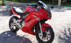 Great bike, Red with black seat, all stock parts and well maintained. 15200 miles. Never layed down great condition, rides like new. I also have a relativley new helmet for sale as well. A must see. Please only serious inquiries, Don't waste my time or