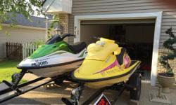 Willing to sell individually or as a pair  Sea Doo XP Limited 1998 ($1,000.00)  Kawasaki Ultra 150 2004 ($2,2000)