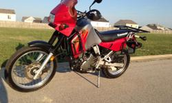 $3,900 O.B.O. This KLR is set up and ready for any adventure you desire. 10,000 mile service just completed, to include fresh valve adjustment. Doohickey mod completed and original parts included. Magnetic drain plug.