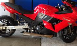Clean Title, Kept in Garage, never raced, Macintosh Swing Arm stretched 6 inches with more room to adjust, Brocs Exhaust that sounds great, Power Commander, Lowered,Ostrich seat. Contact (317) 362-8123 /dwayneware@yahoo.com