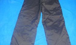 "Rawik Kids Snow Pants Size ""medium"" = Size 6 - 8 Very Good Condition"