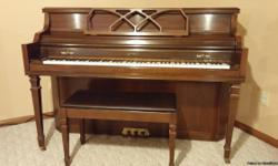 Beautiful piano needs a home Where it can play.