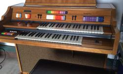 Kimball Organ the Entertainer III. Good condition. Excellent for kids to learn to play. Asking $100. Call 814-450-5769