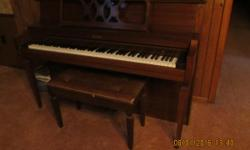 Moving and need to sell , piano is in really good condition. One owner and has been well taken care of. Purchased in the late 70's. I live in Marshall Tx. near I-20