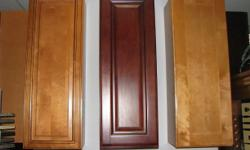 Whether you're building a new kitchen or upgrading your existing one, you'll fiind remarkable selection of kitchen cabinets (over 40 doors tyle) designs and finishes. WE CAN MEASURE AND FIND SOLUTION FOR ANY KITCHEN SMALL OR BIG WITH ****GOOD