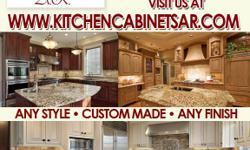 We specilaize in remodeling your kitchen with new cabinets and granite countertops. We also make garage and closet cabinets for your needs please give us a call at 714 981 6625 or visit us at www.kitchencabinets.com