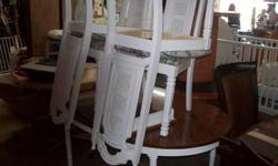 $$$$$$$ CASH ONLY $$$$$$$ KITCHEN TABLE & 4 CHAIRS / GREAT DEAL!!! SCOTT () - LOCATED IN SOUTH FLORIDA A TO Z THRIFT STORE 4229 HALLANDALE BEACH BLVD. (4 LIGHTS WEST OF I-95) STORE HOURS: 9-5 MONDAY - SATURDAY DELIVERY