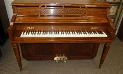 Knabe is one of the best American pianos made. Beautifully restored, with new German Abel hammers. Truly a fine piano.  The Knabe has long been the chosen instrument of important conservatories of music and other institutions of higher learning