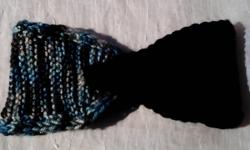 knit headband, multicolor(earthtone), handmade, free shipping in us