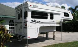 PRISTINE TOP OF THE LINE CAMPER FOR 8' TRUCK BED-ASKING $9500 EMAIL- wayne2sandy@embarqmail.com ALL SYSTEMS IN CLEAN AND WORKING CONDITION!