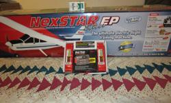 NexStar EP Select with HobbiCo twin battery pack&charger. This is a new in the box plane, never flown or assembled. The battery pack is also new in the box. Close to $800.00 invested . Gentalman who purchased passed