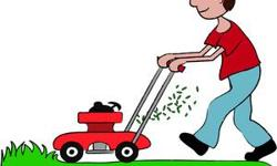 front and back yard $25  weed eating $10 6827061449 john
