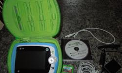 Includes Silicon cover, screen protector, carrying case & charger . Excellent condition, bought for grandson in February and used it very little.