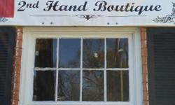 2nd hand Boutique We have shirts,Shoes,Dresses,Jewelry galore and a variety of make-up to choose from.