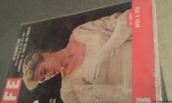 Set of Life and Look Magazines featuring Grace Kelly All magazines are in mint condition There is 7 magazines in all