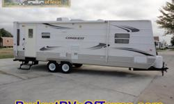 Just perfect for long weekends at the lake or weeks long cross country adventures this great 2010 bumper pull travel trailer is in perfect condition! With sleeping for up to six the whole family can get in on all of the great fun you are sure to have!