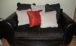 Like New Sofa Set, only used for two weeks very comfy asking 700.00 Please contact CeeCee @ OR reply to email .