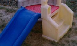 Little tiles toddler slide