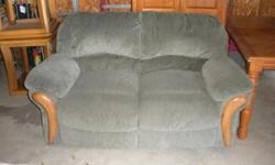 Sofa recliner, love seat recliner, two end tables