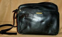 Liz Claiborne genuine leather handbag - good condition. Built-in zippered front wallet compartment. PayPal or Google Checkout accepted. I have a 100% seller rating on Ebay (under the account name of hollybee75) FEEL FREE TO MAKE ME AN OFFER - items ship
