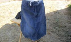 Cute Liz Claiborne jeans skirt in great condition. Size is 10P.
