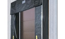 LIKE NEW RITE HITE ARDON EPUIPMENT LOADING DOCK GAURDS. PROTECT YOUR BUILDING FORM BEING DAMAGED BY CARELESS DELIVERY DRIVERS./ THESE ARE VERY DURABLE WILL LAST ALMOST AS LONG AS YOUR BUILDING. THE FLAPS WILL HELP KEEP BUGS OR FLIES FROM