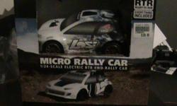 I have a brandnew losi micro 4wd rtrRally car.Everything you need is in the box. Any qustions email at jonunclemarv@aol.com