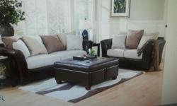 Beautiful cozy couch and loveseat set. Brand new condition. Great deal and price!!
