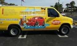 BUBBLES ON WHEELS CAR WASH AND MOBILE DETAIL SERVICES         3446 N. Andrews Ave. Oakland Park, FL. 33309         KEITH - (754) 265-5049 Phone: (954)