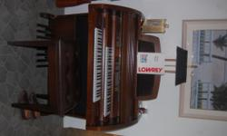 Due to fathers health I am forced to sell his Lowrey Premier model30 rolltop organ. It is in excellent condition, purchased for $29,000+ originally. Will sacrafice at 50% off todays retail market value.   SERIOUS INQUIRIES
