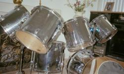 Drums only 6 piece 13' 15' 2 (16') 18' floor and a 22' bass If interested call 561 357 7000