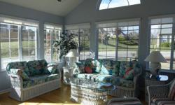 """This is a resale condo located in Villas at Wicklow, a """" Carefree Condo Living"""" community. This condo has had all the upscale, upgrades that will cost as extras in new construction. Presently there are no other condos here for sale. 2BR, + office/den, 2"""