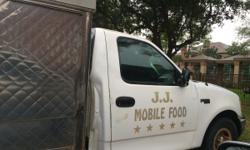 Mobile food truck. ford f-150 2001 11.000
