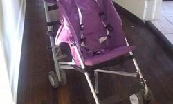 Purple stroller was 200 new very high end stroller. It has been well used but still it great condition 561 355 2760