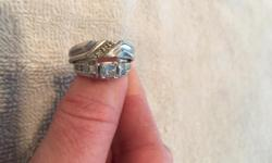 Wedding ring set, $2,000 OBO! Call for details, 435-229-5362
