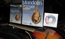 Hohner Sunburst ?A? Style Solid Top Acoustic Mandolin (Model HMA/VSB) like new ? Includes Guardian case with strap, a book and audio CD ?Mandolin Primer for Beginners?, and a video, ?Introduction to Mandolin for Beginners? all 3 by Bert Casey. Value