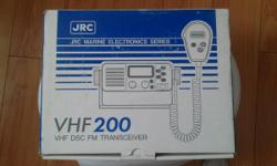 VHF MARINE TEANSCEIVER. AND GPS LAWRENCE  $ 225 BOTH CONTACT 818 825 - 1264