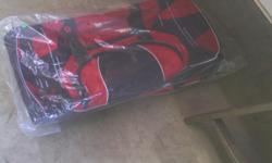 (2) rolling luggage bags. Brand new in bag never used. $35 each. 269-279-9467.