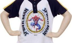 Cute short set in Navy, White and Yellow featuring embroidered Spider-Man Top and twill shorts with elastic waist. Top and shorts are 100% cotton. To purchase visit our store at :  www.childrenschoiceclothing.com
