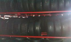 "We sell used and new tires we have the best prices in town.. From sizes 13"" to 24"" used starting at 30.00 and new tires starting at 65.00 and up. Size 26"" we have to order. We are open 7am to 10 pm Mon-Sun. We are located at the coner of Main and Gage"