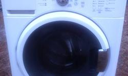 I have a maytag front load washer for sale, works and looks great but recently stopped draining, not sure why it may be drain pump which is $75 part, too busy to fix so i bought new washer
