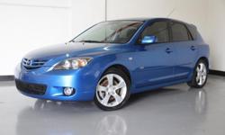 2006 Mazda 3 GT Exterior Blue Mica Interior Black Five Speed Manual Engine 2.3 L DOHC EF 16 Valve 14- Eng MPG-25City/35Hwy Milege 137,580 1Owner $ 5499.00
