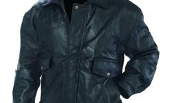 I have a selection of these jackets, they are all new (tags attached). I have sizes of: small medium large x-large xx-large The leather is soft and supple. the MRRP is $199.95, these are a bargain at this price even for re-sale. they come from a smoke