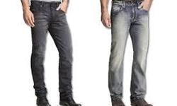 Shop for men's jeans in classic, relaxed or slim fit styles. Choose from skinny jeans, slim jeans, slim tapered jeans, straight jeans, bootcut jeans, and more from popular brands. http://www.mensjeansoutlet.com/